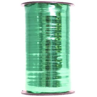 CURLING RIBBON GLOSS MET. 5mm x 460M EMERALD