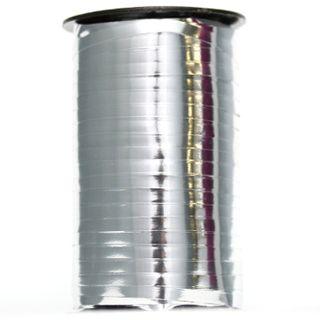 CURLING RIBBON GLOSS MET. 5mm x 460M SILVER