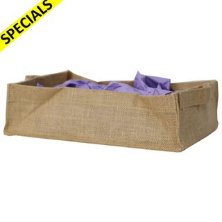 HESSIAN TRAY 310x90x22 mm MIN BUY 10