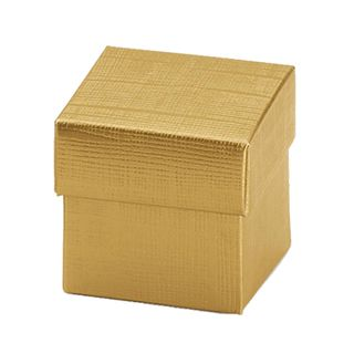 TRINKET 50x50x50mm GOLD -PACK OF 10