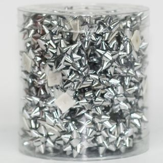 STARBOWS SMALL SILVER (100)