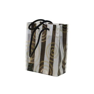 GOLD KORU RANGE BAG MED 240Hx200Wx100Gmm-PACK OF 10  (REUSABLE)