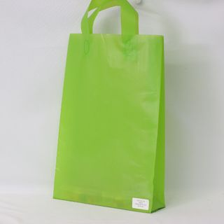 SOFTLOOP BAG MED 360Hx250Wx70Gmm LIME (25)-90 MICRONS