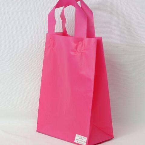 SOFTLOOP BAG SML 270Hx195Wx105Gmm HOT PINK (25)-90 MICRONS