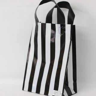 SOFTLOOP BAG SML 270Hx195Wx105Gmm BLACK/WHITE STRIPE (25)-90 MIC