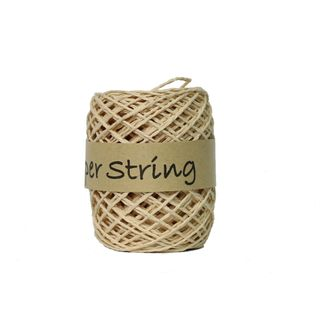 PAPER STRING 2mm x 50M NATURAL