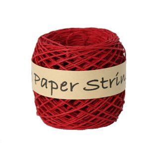 PAPER STRING 2mm x 50M RED