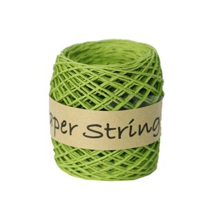 PAPER STRING 2mm x 50M GREEN