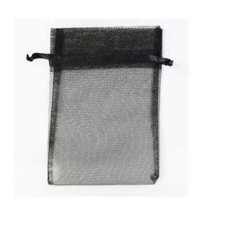 POUCH LARGE 22(H) x 17(W)cm (10) BLACK