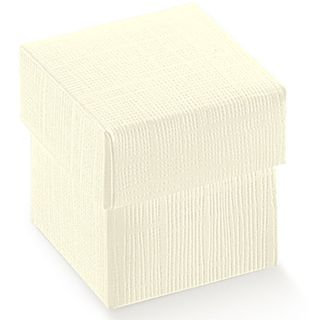 TRINKET 50x50x50mm WHITE -PACK OF 10