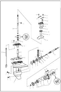 WATERPUMP & GEARBOX