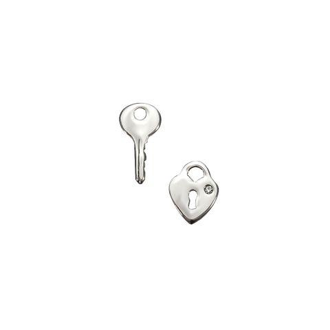 Silver- Key / Lock
