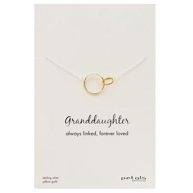 Gold - Granddaughter Necklace