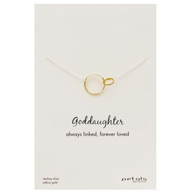 Gold - Goddaughter Necklace