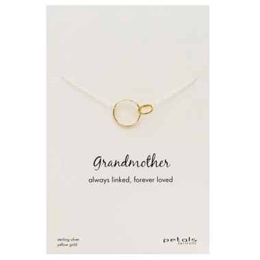 Gold - Grandmother Necklace
