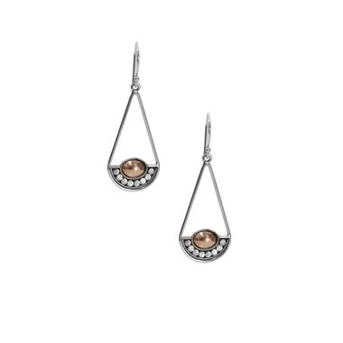 Cinta Crescent Earrings