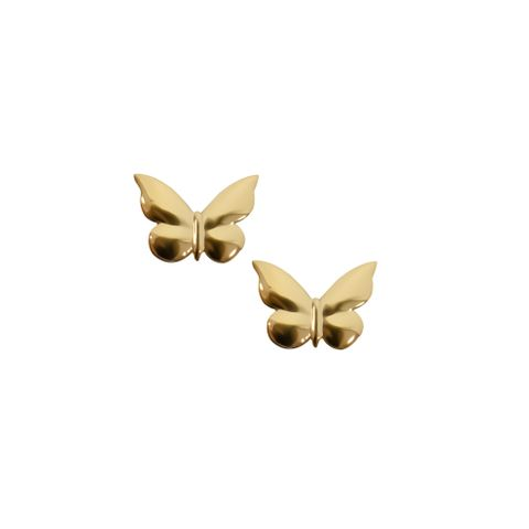 Gold - Butterfly Stud