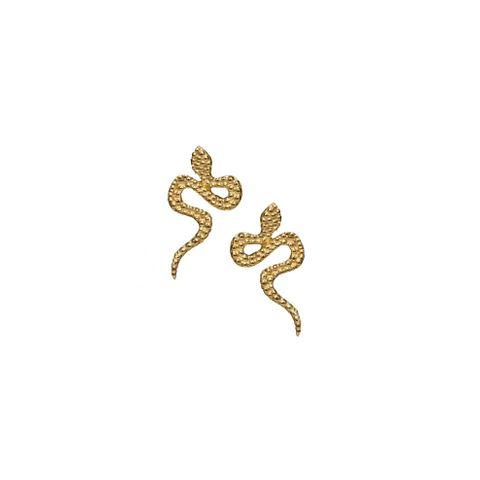 Gold - Snake Stud