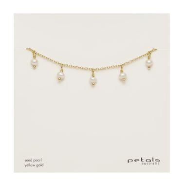 Gold Seed Pearl Bracelet