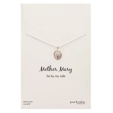 Rose - Mother Mary Necklace