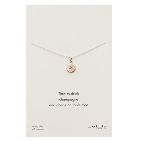Rose - 40 Necklace
