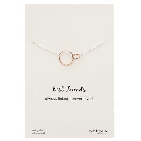 Rose - Best Friends Necklace