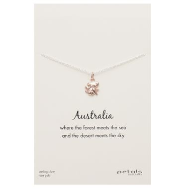 Rose - Koala Necklace