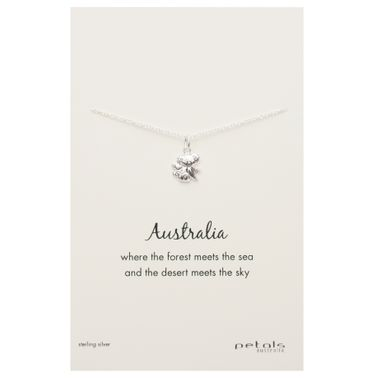 Silver - Koala Necklace