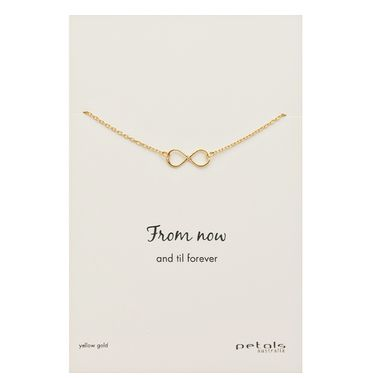 Gold - Infinity Necklace