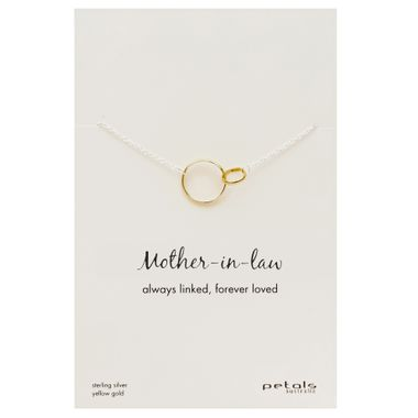 Gold - Mother-in-Law Necklace