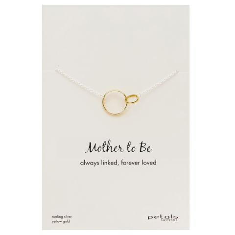 Gold - Mother to Be Necklace