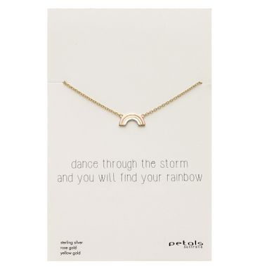 Rainbow - Storm Gold Neck