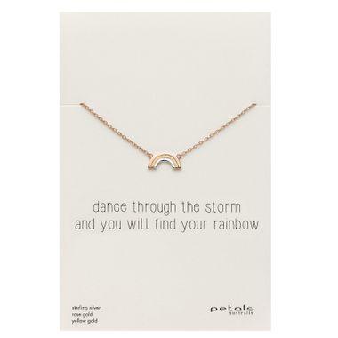 Rainbow - Storm Rose Neck