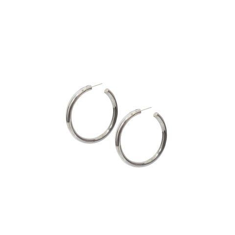 Silver - 50mm Hoop