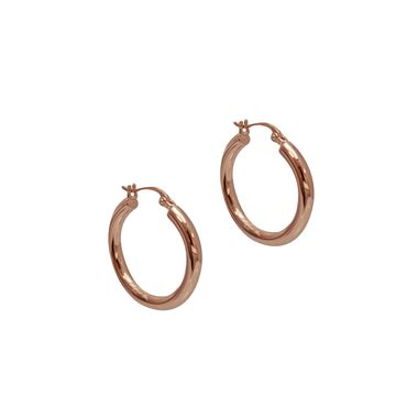 Rose - Classic Hoop Earrings