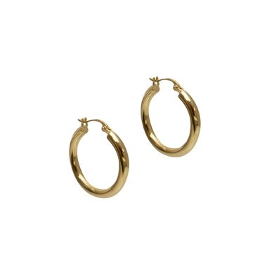 Gold - Classic Hoop Earrings
