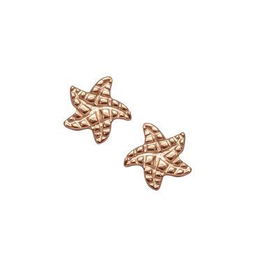 Rose - Small Starfish Stud