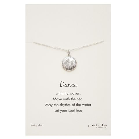 Silver - Sea Urchin Necklace