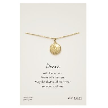 Gold- Sea Urchin Necklace