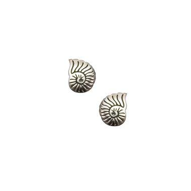 Silver- Spiral Shell