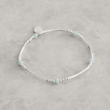 Silver- Turquoise Bracelet