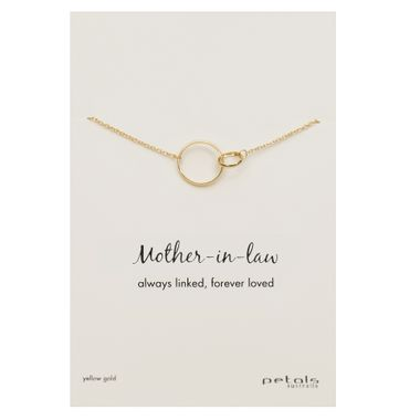 Plain Gold- Mother-In-Law Nkl