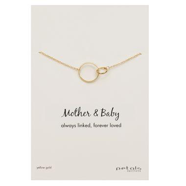 Plain Gold- Mother & Baby Nkl