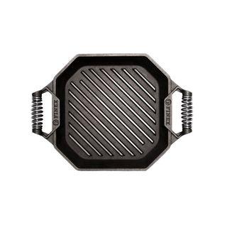 Finex Cast Iron Grill Pan Twin Spring 30cm