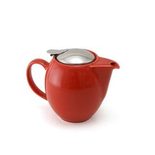 Zero Teapot 350ml Tomato