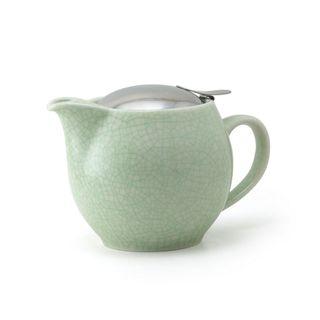 Zero Teapot 450ml Artisan Crackle Green