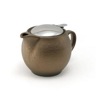 Zero Teapot 450ml Antique Gold