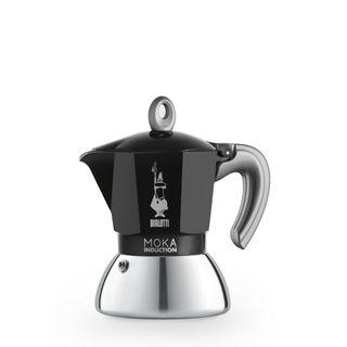 Bialetti Moka Induction Bi Layer Black 2 Cup