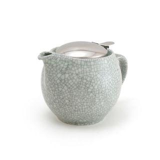Zero Teapot 450ml Crackle Smoke