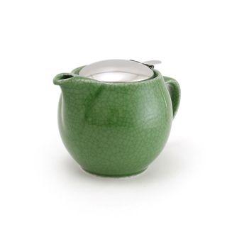 Zero Teapot 450ml Crackle Green